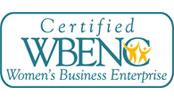 Certified WBENC Women's Business Enterprise